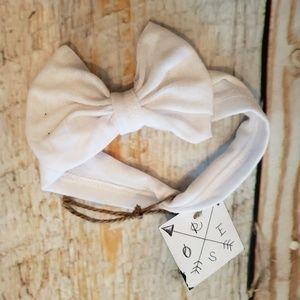 Arrow Rose Tshirt Headband bows